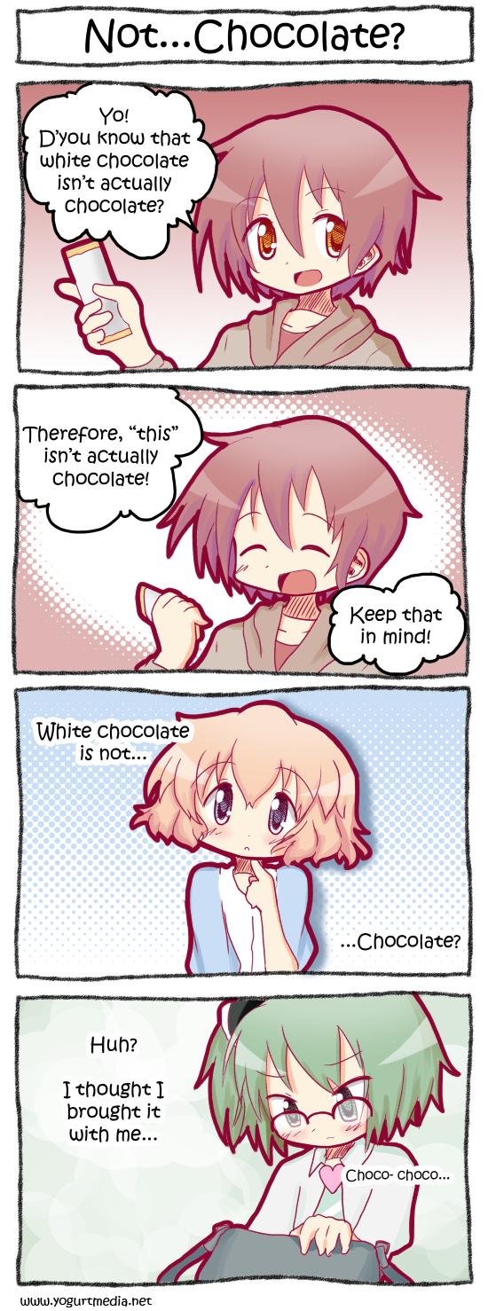 Not…Chocolate?