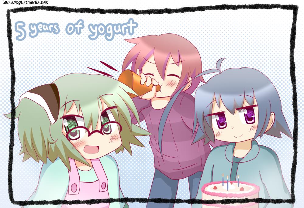 Happy Birthday, Yogurt!