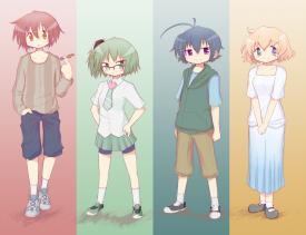 Yogurt Main Characters. [October 3, 2012]