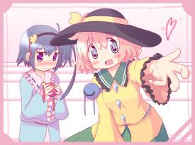 Yogurt and Berry cosplaying as Koishi and Satori Komeiji from Touhou Project [June 14, 2013]