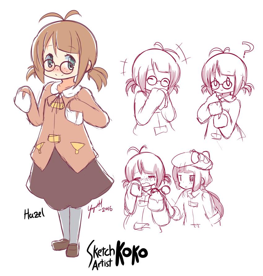 Sketch Artist Koko Character Concept Hazel - [September 26, 2016]