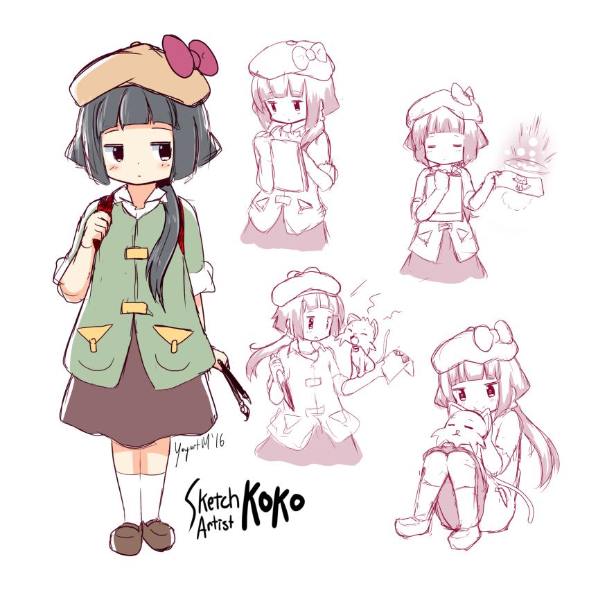 Sketch Artist Koko Character Concept - [September 19, 2016]