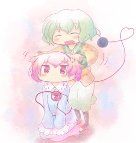 Satori and Koishi Komeiji - Touhou Project [March 13, 2014]