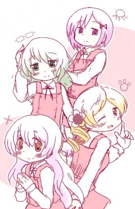 Hidamari Sketch x Puella Magi Madoka Magica - Like-seiyuu [September 2, 2013]