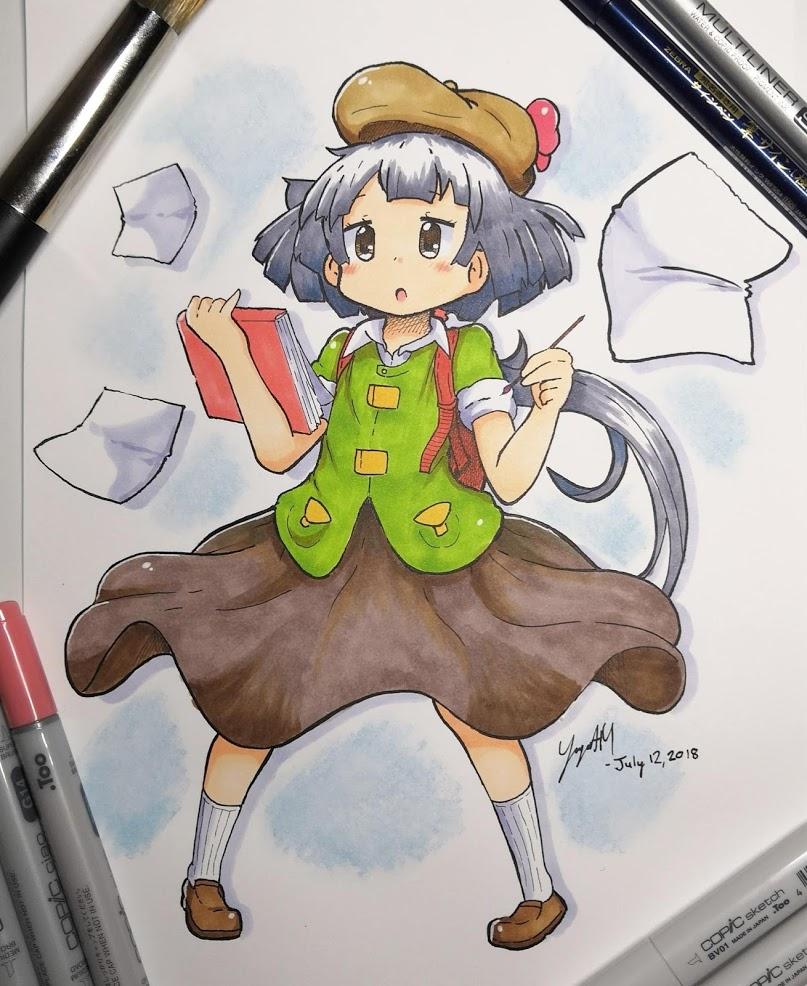 Koko Markers - Sketch Artist Koko - [July 12, 2018]