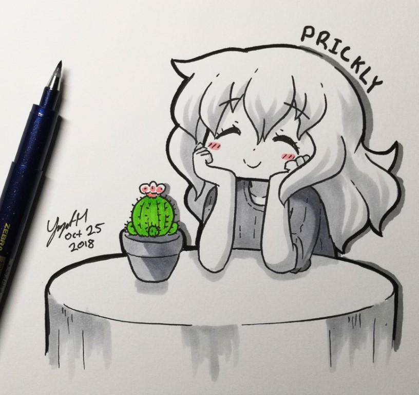 Prickly - [October 25, 2018]
