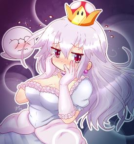 Princess King Boo - Peach and King Boo - Super Mario - [September 26, 2018]