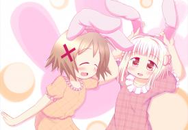 Yuno and Nazuna - Hidmari Sketch [August 1, 2013]