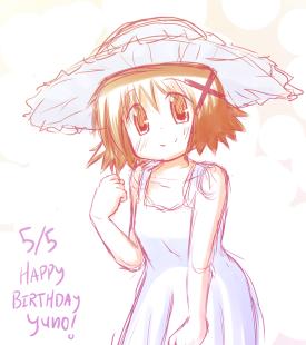 Yuno's Birthday - Hidamari Sketch. [May 5, 2013]