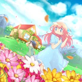 Flower Field - Yogurt Short Comics Vol.5 Book Cover - [April 1, 2017]
