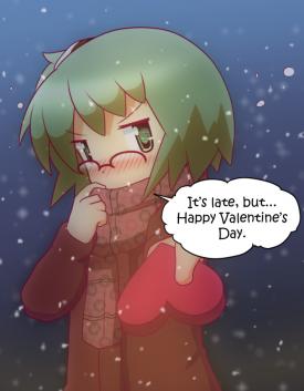 Risa's Valentine's Gift [February 14, 2014]