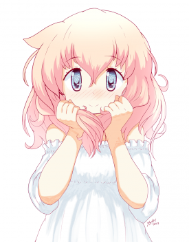 Yogurt Holding Her Hair - [October 31, 2017]
