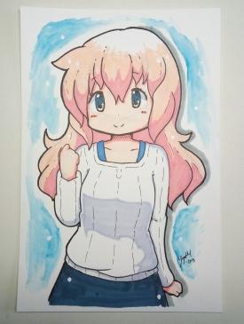 Watercolour and Marker Yogurt - [March 17, 2018]